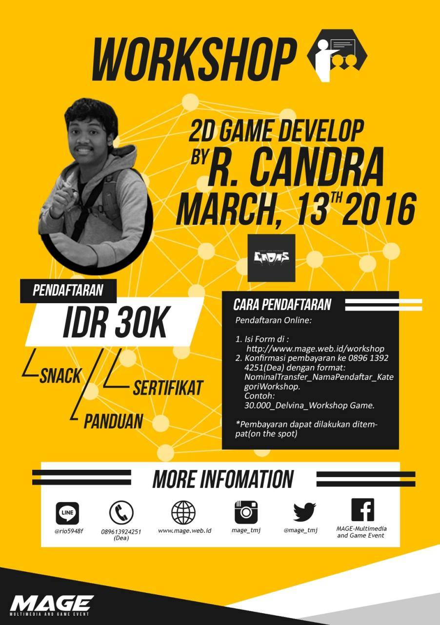 Workshop Game Mage Dicoding Indonesia