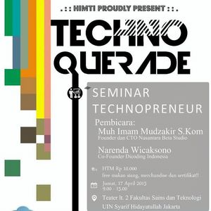 "Seminar ""Technopreneur"""