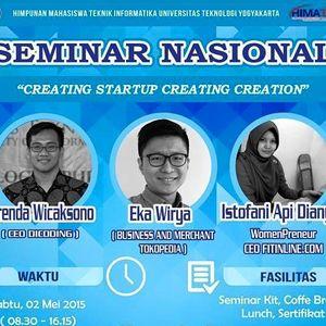 Seminar Nasional - HIMATIKA UTY